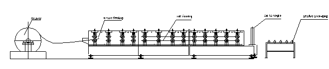 Top Hat Roll Forming Machine1