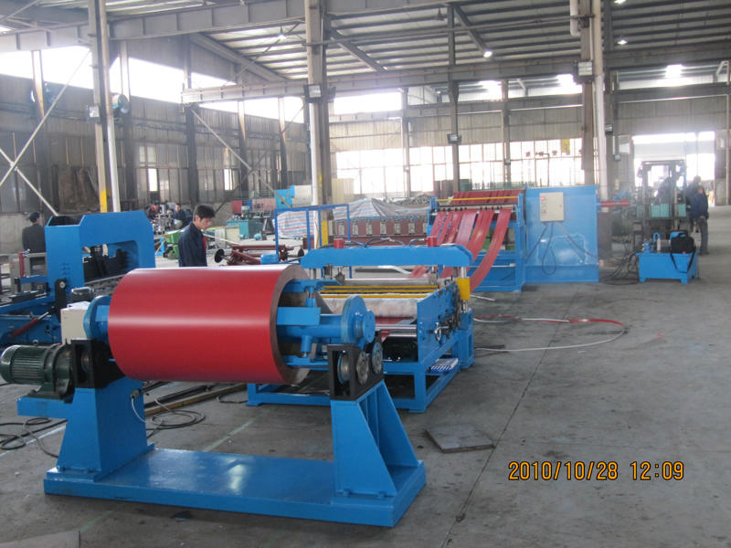 Simple Steel Slitting Line4