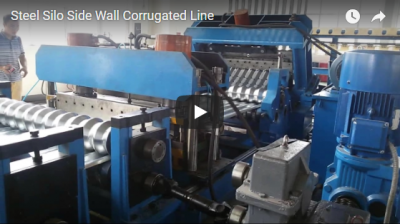 Steel Silo Side Wall Corrugated Line