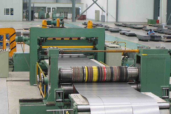 Combined Steel Slitting & Cutting to Length Line