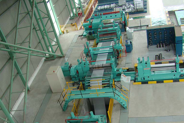 steel coil slitter machine